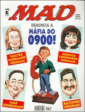 MAD Magazine #144 • Brasil • 2nd Edition - Record