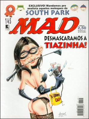 MAD Magazine #145 • Brasil • 2nd Edition - Record