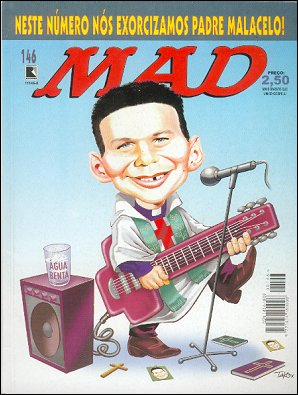 MAD Magazine #146 • Brasil • 2nd Edition - Record
