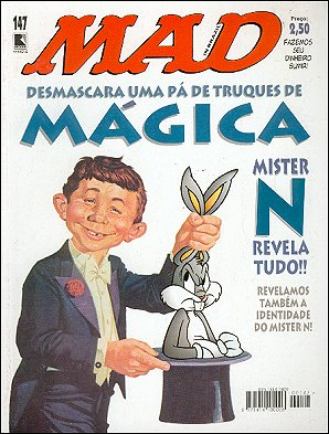 MAD Magazine #147 • Brasil • 2nd Edition - Record