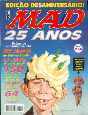 MAD Magazine #150 • Brasil • 2nd Edition - Record