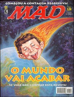 MAD Magazine #151 • Brasil • 2nd Edition - Record