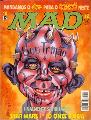 MAD Magazine #152 • Brasil • 2nd Edition - Record