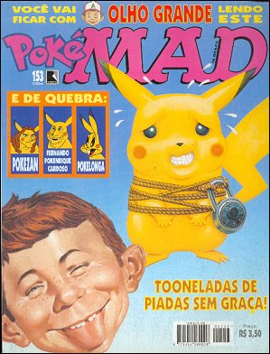 MAD Magazine #153 • Brasil • 2nd Edition - Record