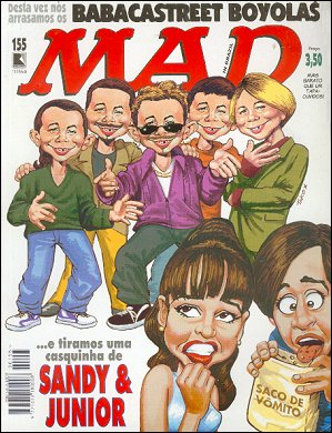 MAD Magazine #155 • Brasil • 2nd Edition - Record