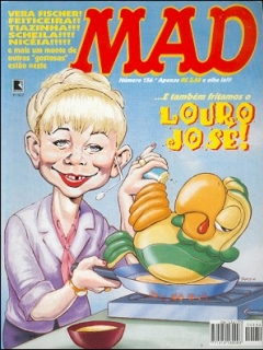 MAD Magazine #156 • Brasil • 2nd Edition - Record