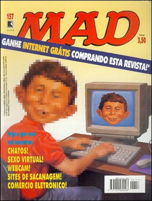 MAD Magazine #157 • Brasil • 2nd Edition - Record