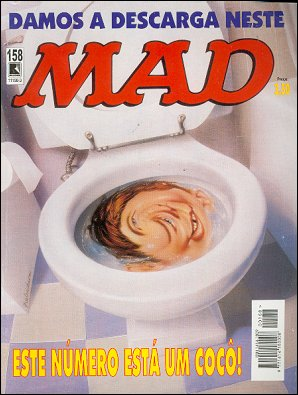 MAD Magazine #158 • Brasil • 2nd Edition - Record