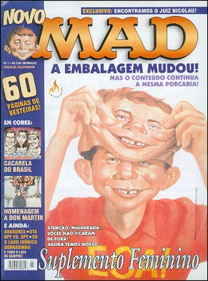 MAD Magazine #1 • Brasil • 3rd Edition - Mythos