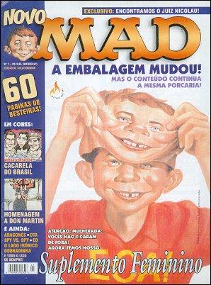 MAD Magazine #1 • Brasil • 3rd Edition - Mythos