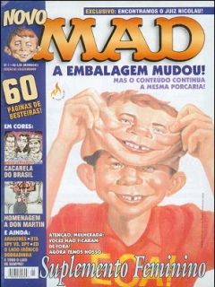 Go to MAD Magazine #1 • Brasil • 3rd Edition - Mythos
