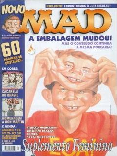 MAD Magazine • Brasil • 3rd Edition - Mythos