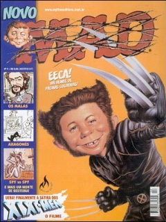 Go to MAD Magazine #2 • Brasil • 3rd Edition - Mythos