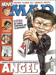 Go to MAD Magazine #3 • Brasil • 3rd Edition - Mythos