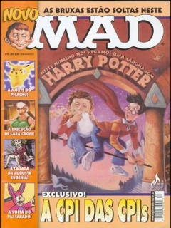 MAD Magazine #5 • Brasil • 3rd Edition - Mythos