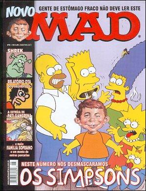 MAD Magazine #6 • Brasil • 3rd Edition - Mythos