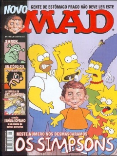 MAD Magazine #6 • Brasil • 3rd Edition - Mythos