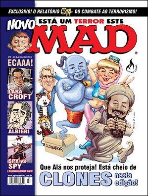 MAD Magazine #7 • Brasil • 3rd Edition - Mythos