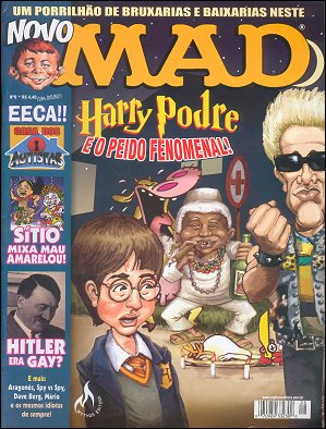 MAD Magazine #8 • Brasil • 3rd Edition - Mythos
