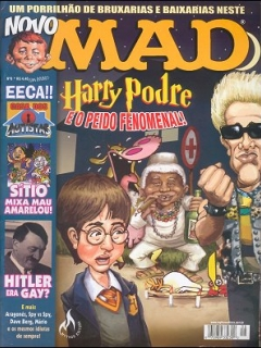 Go to MAD Magazine #8 • Brasil • 3rd Edition - Mythos