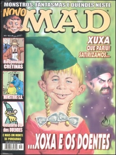 Go to MAD Magazine #9 • Brasil • 3rd Edition - Mythos