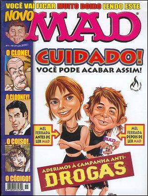 MAD Magazine #11 • Brasil • 3rd Edition - Mythos