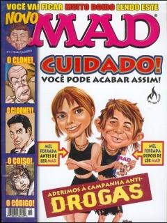 MAD Magazine #11 • Brasil • 3rd Edition - Mythos