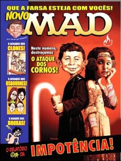 Go to MAD Magazine #12 • Brasil • 3rd Edition - Mythos