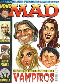 Go to MAD Magazine #13 • Brasil • 3rd Edition - Mythos
