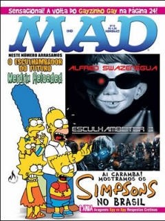 Go to MAD Magazine #19 • Brasil • 3rd Edition - Mythos