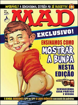 MAD Magazine #20 • Brasil • 3rd Edition - Mythos