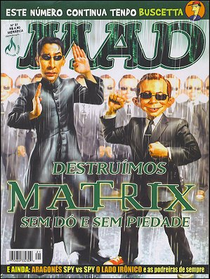 MAD Magazine #21 • Brasil • 3rd Edition - Mythos