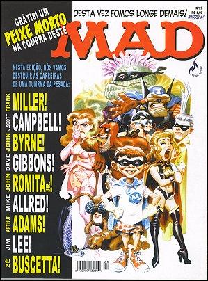 MAD Magazine #23 • Brasil • 3rd Edition - Mythos