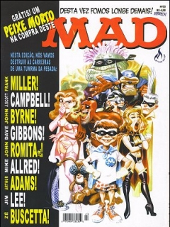 Go to MAD Magazine #23 • Brasil • 3rd Edition - Mythos