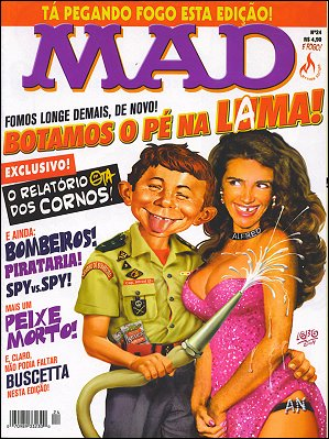 MAD Magazine #24 • Brasil • 3rd Edition - Mythos