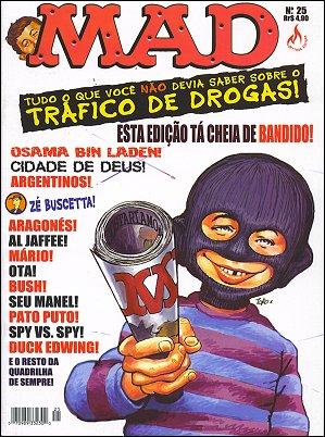 MAD Magazine #25 • Brasil • 3rd Edition - Mythos