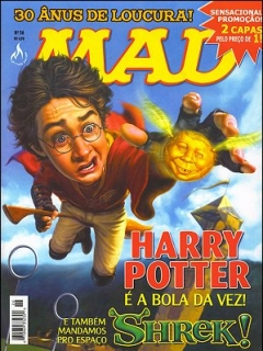Go to MAD Magazine #26 • Brasil • 3rd Edition - Mythos