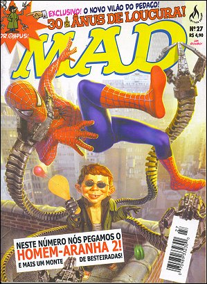 MAD Magazine #27 • Brasil • 3rd Edition - Mythos