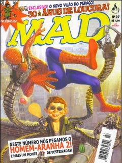 Go to MAD Magazine #27 • Brasil • 3rd Edition - Mythos