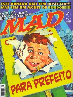 Go to MAD Magazine #28 • Brasil • 3rd Edition - Mythos