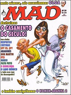 MAD Magazine #29 • Brasil • 3rd Edition - Mythos