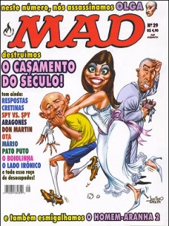 Go to MAD Magazine #29 • Brasil • 3rd Edition - Mythos