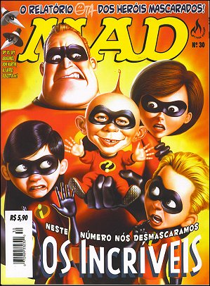 MAD Magazine #30 • Brasil • 3rd Edition - Mythos