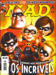 Go to MAD Magazine #30 • Brasil • 3rd Edition - Mythos