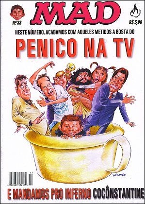 MAD Magazine #33 • Brasil • 3rd Edition - Mythos