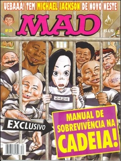 Go to MAD Magazine #34 • Brasil • 3rd Edition - Mythos