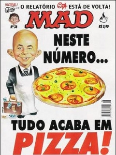 MAD Magazine #36 • Brasil • 3rd Edition - Mythos