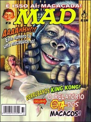 MAD Magazine #38 • Brasil • 3rd Edition - Mythos