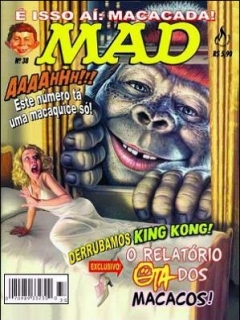 Go to MAD Magazine #38 • Brasil • 3rd Edition - Mythos