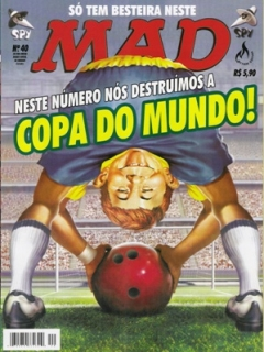 Go to MAD Magazine #40 • Brasil • 3rd Edition - Mythos
